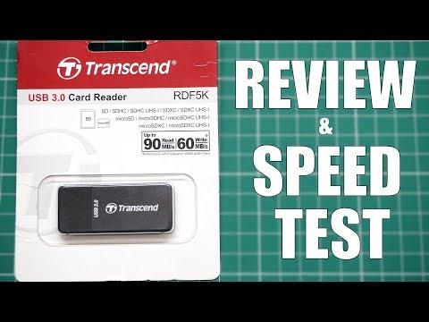 Transcend USB 3.0 Card Reader - RDF5K