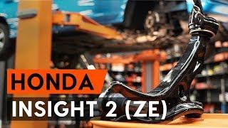 Как се сменят Носач На Кола на HONDA INSIGHT (ZE_) - онлайн безплатно видео