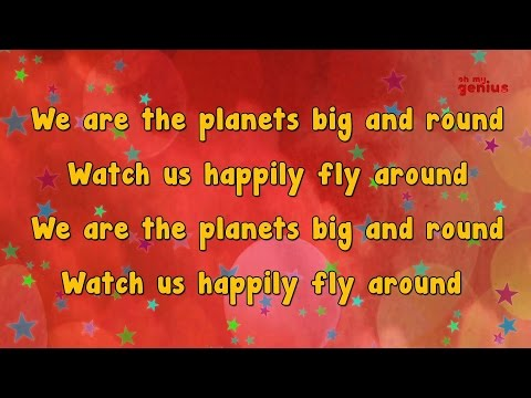 Karaoke - Planet Song | Karaoke Rhymes