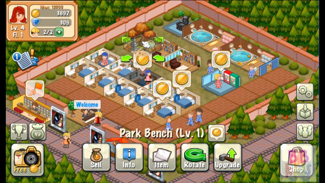 Hotel Story Build Design Your Dream Resort To Richness Part - Hotel design games