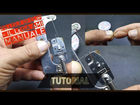 Nodo per ami a paletta con il LEGA AMI MANUALE come usarlo - HOW TO TIE A HOOK - clipangler