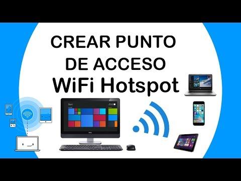 Cómo Compartir El Internet Desde PC    WIFI Hostpot