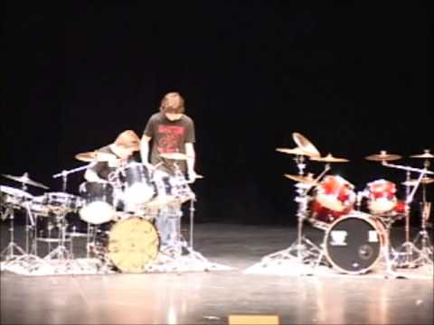 John Bivens and Ryan Hunter Smith Drum solo