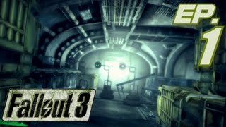 Fallout 3 GOTY Gameplay, Part 1: Growing up in Vault 101 (Lets Play, 1080p HD)