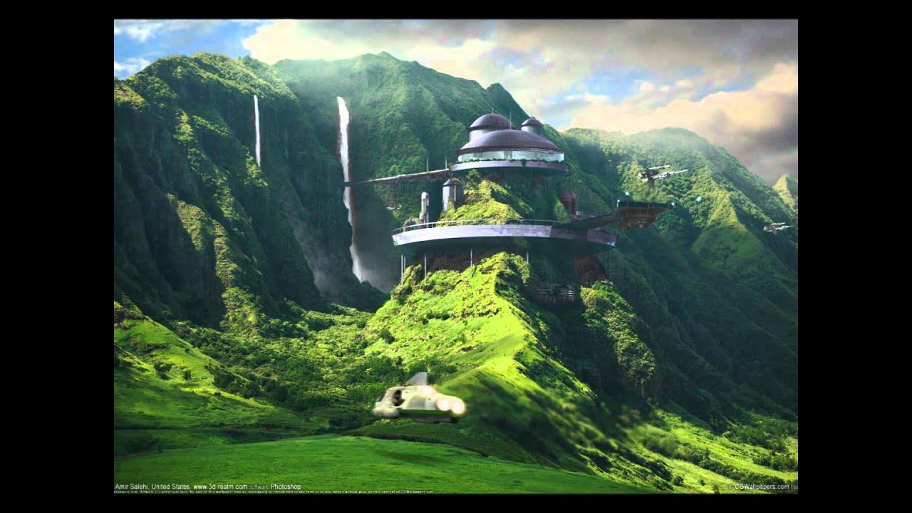 fantasy landscapes - youtube