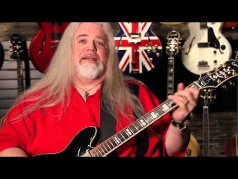 Rusty Wright and his Epiphone Sheraton-II