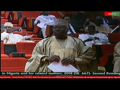 Senate Plenary, 18th April, 2018