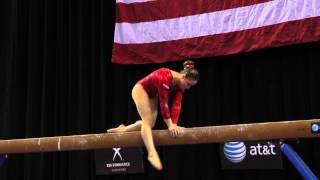 Victoria Moors - Balance Beam - 2014 AT&T American Cup