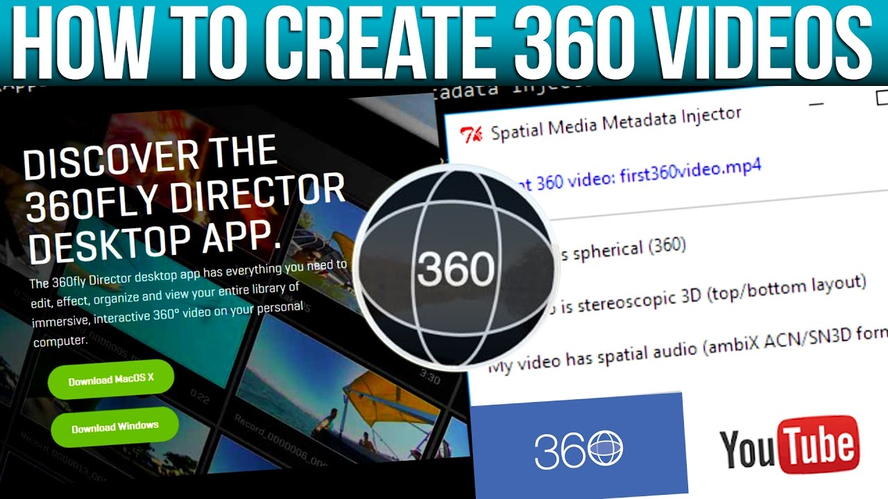 Create 360 Degree Videos For Youtube & Facebook With Sony Vegas And 360  Director