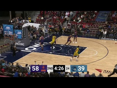 Justin Patton with the flush