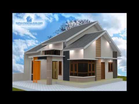 Desain Rumah Sederhana Ukuran 6x12 Youtube Gambar