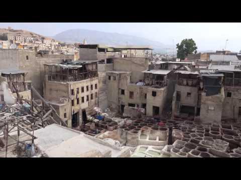 Medina of Fès, fez,  Morocco in  HD quality