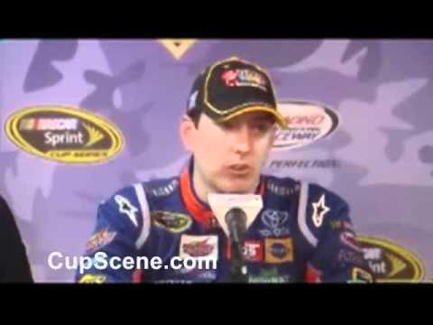 Kyle Busch Dave Rogers J.D. Gibbs NASCAR post-race news conference at Richmond part 1