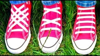 TOP 3 Ways To Lace Shoes - Video Tutorial Of 3...