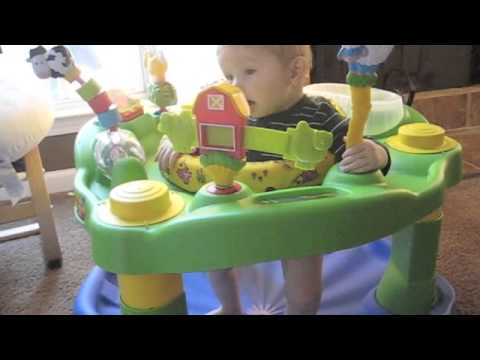 377ac66f674e Exersaucer Jumper - YouTube