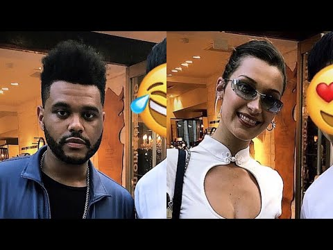 The Weeknd And Bella Hadid In Tokyo, Japan