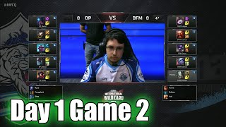 Dark Passage vs DetonatioN FocusMe | Day 1 Game 2 IWCT Turkey 2015 - DP vs DFM | Turkey vs Japan