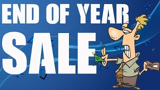PSN End of Year Sale Cheap PS4 Games