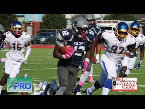 The John Mendola Show Jerrod Diggs Lackawanna College Falcons Football