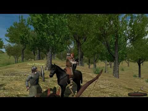 Let's Play Mount and Blade: Part 26 - Caravan Raid, Sinister Hat People, Mysogyny