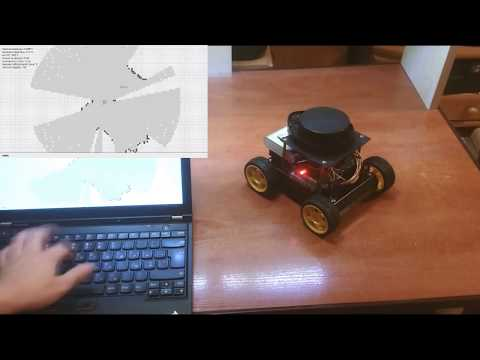Automated control system for mobile robot with usage of LIDA