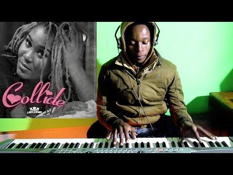 Lady Zamar - Collide - Piano Cover - Dj Romeo SA