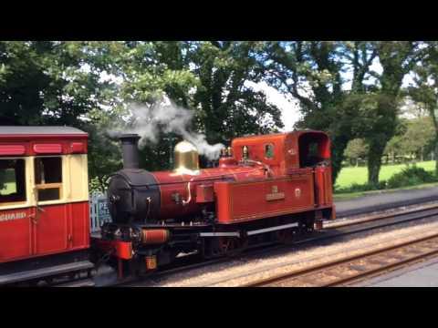 Railways of the Isle of Man, Isle of Man Steam Railway, Summer 2017