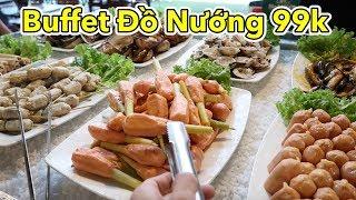 Lâm Vlog - Ăn Buffet Đồ Nướng 99k | Ăn Mừng 400k Lượt Đăng Ký thumbnail
