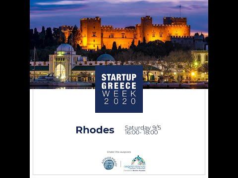 Startup Greece Week 2020: City Session Rhodes Live