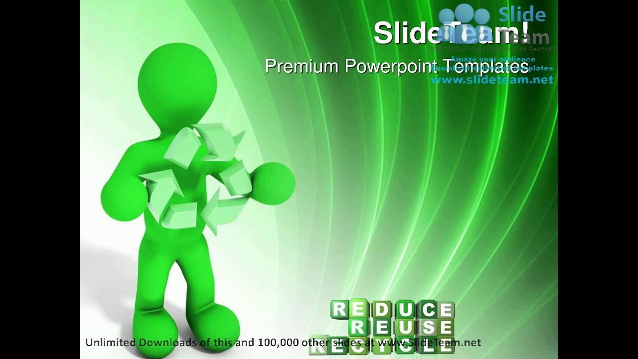 Reduce reuse recycle environment powerpoint templates themes and reduce reuse recycle environment powerpoint templates themes and backgrounds ppt themes youtube toneelgroepblik Image collections