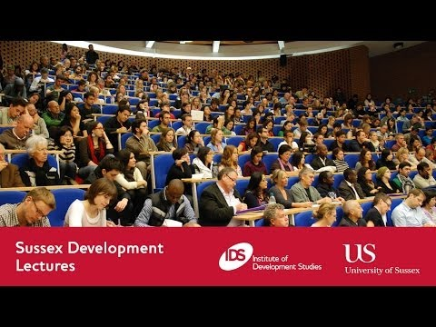 Sussex Development Lecture: Popular Representations of Devel