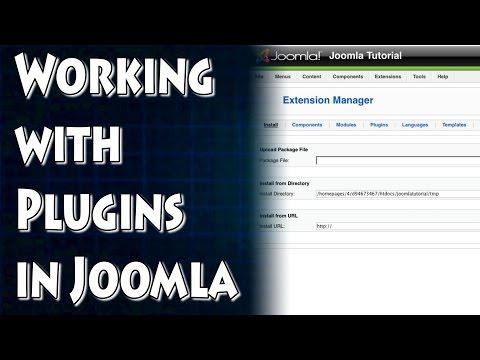 Joomla Tutorial: Working With Plugins