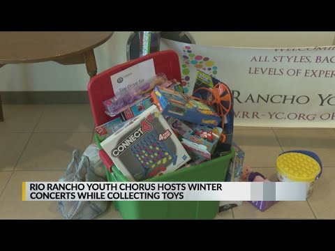 Rio Rancho youth host 'Home for the Holidays', collect dozens of donations