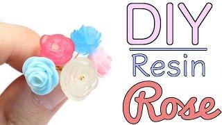NO MOLD DIY Resin Crystal Rose Tutorial