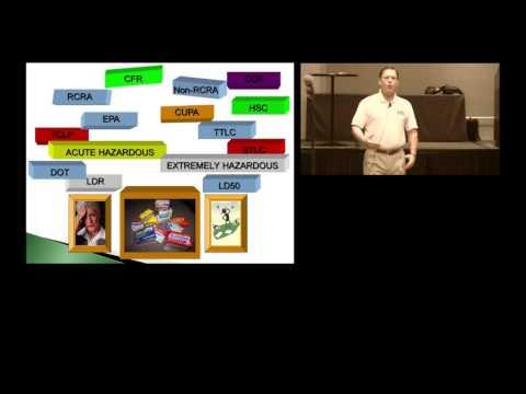BASIC HAZARDOUS WASTE IDENTIFICATION AND CLASSIFICATION (Part 1 of 2)