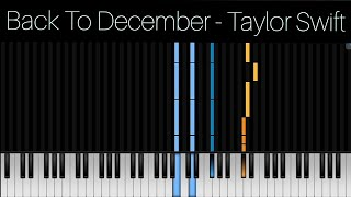 Back to december - taylor swift | chord ...