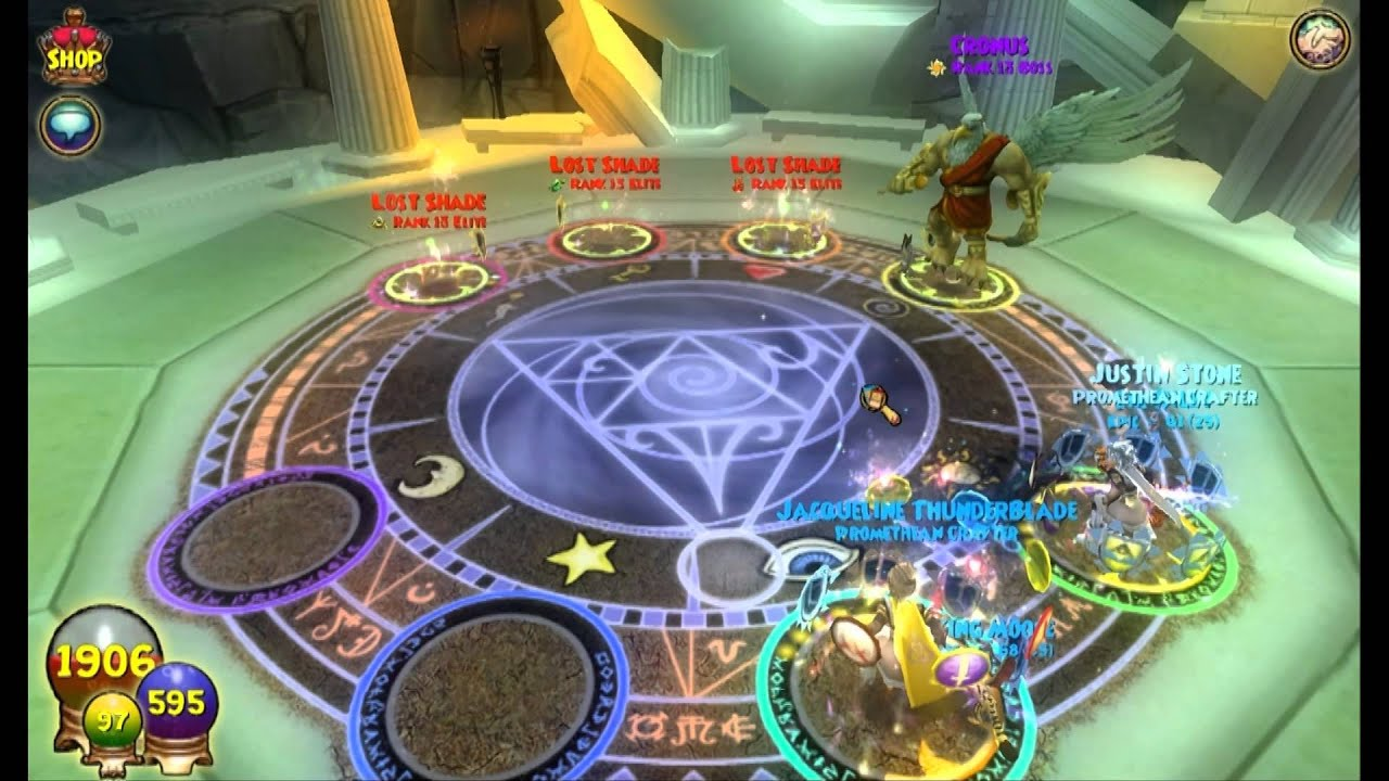 Wizard101: Cronus Run