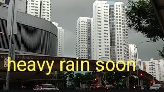 RAINING SINGAPORE | HURRY HOME BEFORE IT RAINS