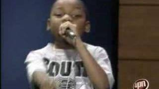 Urban Idol TV - 8 Year Old Rapper Lj Frazier Talent Show Case On UPN