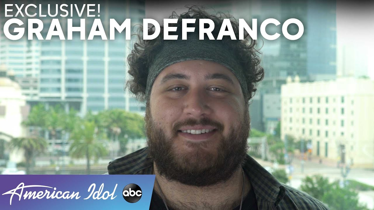 Graham DeFranco Talks About The Lack Of Confidence He Had Prior To His Audition - American Idol 2021