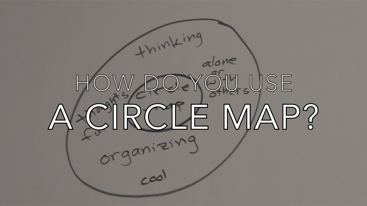 How Do You Use A Circle Map Youtube