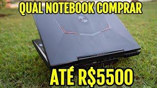 Qual Notebook Comprar por R$5500 no final de 2018/Black Friday? Qual melhor Notebook com a GTX 1060?