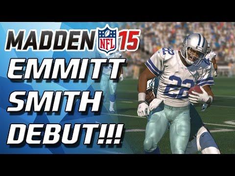 Madden 15 Ultimate Team - EMMITT SMITH DEBUT! - MUT 15