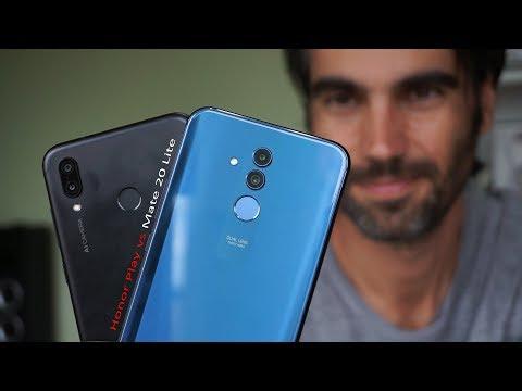 Huawei Mate 20 Lite vs Honor Play | review comparativa en español