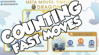 COUNTING FAST MOVES IN THE TIMELESS CUP! POKEMON GO PVP STRATEGIES TO HELP YOU WIN!