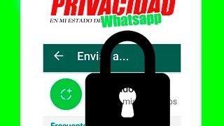 PRIVACIDAD - Estados de