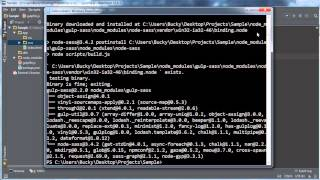 Gulp (Gulp.js) Tutorial for Beginners - 4 - Plugins and Sass/SCSS