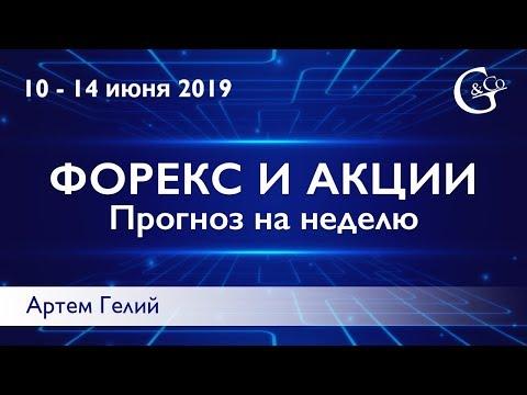 Прогноз форекс на неделю: 10.06.2019 – 14.06.2019