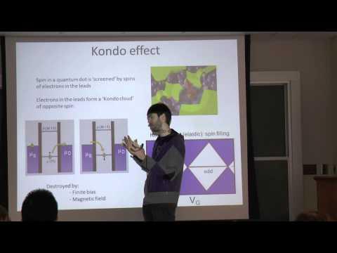 Quantum Transport, Lecture 9: Spin States in Quantum Dots