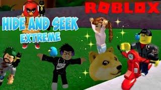 Roblox Hide & Seek Extreme / 2 Blue Bugs, ein Bodyguard und ein BFF! / Lily spielt Roblox